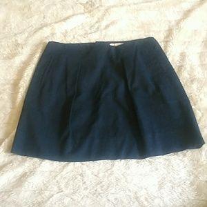 JCrew pleat front skirt